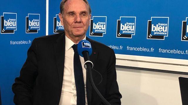 Yvon Berland l'ancien président de l'université d'Aix-Marseille candidat aux municipales à Marseille.