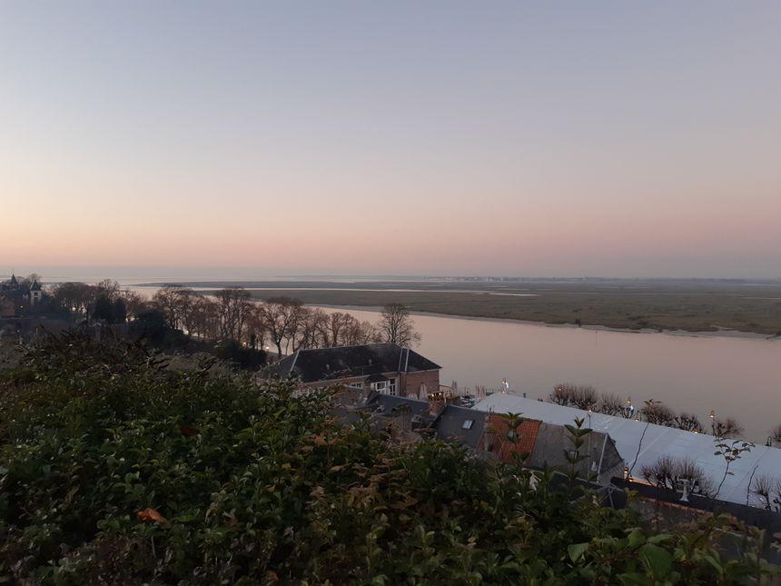 vue sur la mer à St Valery