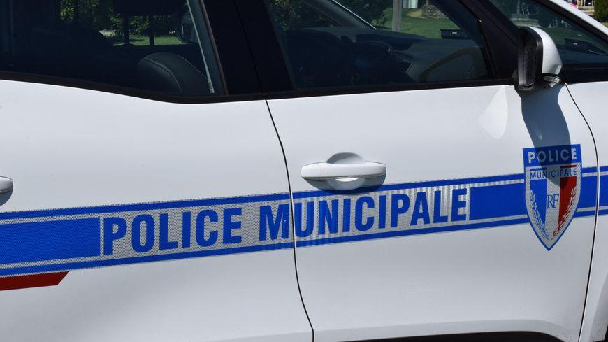 Un véhicule de la police municipale de Valence