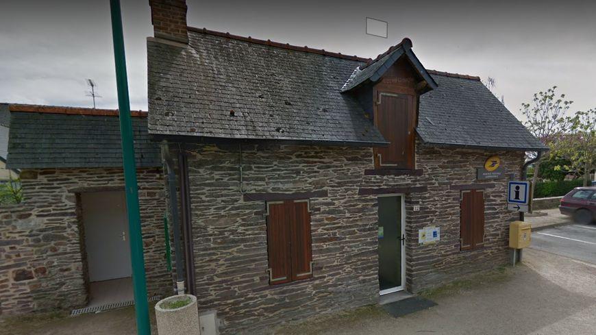 L'agence postale de la Chapelle-Bouëxic en Ille-et-Vilaine