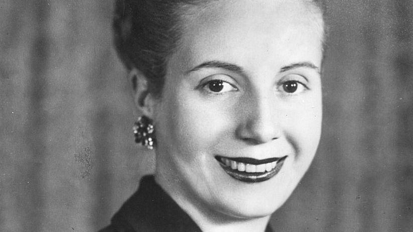 Eva Perón, du Pays Basque au sommet de l'État argentin