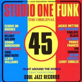 """Pochette de l'album """"Studio One funk"""" par Roy Richards"""