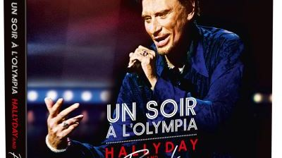 "CD et DVD ""un soir à Olympia"" Johnny Hallyday"