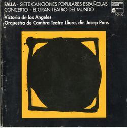 7 chansons populaires espagnoles : El paño moruno - VICTORIA DE LOS ANGELES