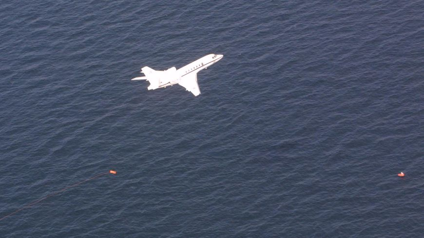 Falcon 50 de la Marine nationale (illustration)