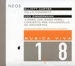 Lieder von einer insel (concerto pour violoncelle et orchestre) : Quatuor canones et cantus firmus - Jan Vogler