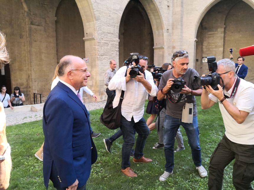 Le Cherbourgeois Bernard Cazeneuve lors des journées parlementaires du PS à Avignon.