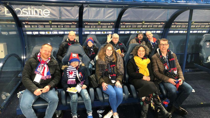 Dix auditeurs de France Bleu Normandie ont vécu le match du Stade Malherbe en coulisses