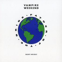 "Pochette de l'album ""Father of the bride"" par Vampire Weekend"