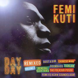 "Pochette de l'album ""Day by day remixed / Vol.1"" par Femi Kuti"