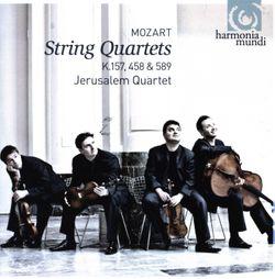 Quatuor à cordes n°4 en Ut Maj K 157 : Allegro - Quatuor Jerusalem