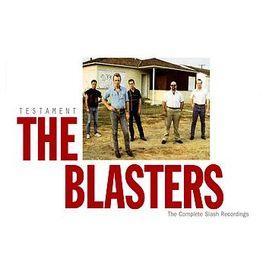 """Pochette de l'album """"Testament  / The Complete Slash Recordings"""" par The Blasters"""