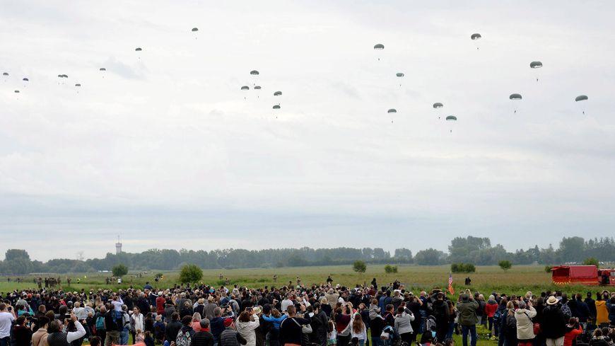 L'un des grands temps forts du 75e anniversaire du Débarquement : les parachutages de La Fière