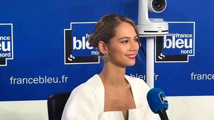 Justine Somers dans la matinale de France Bleu Nord