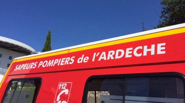 Pompiers de l'Ardèche. Illustration