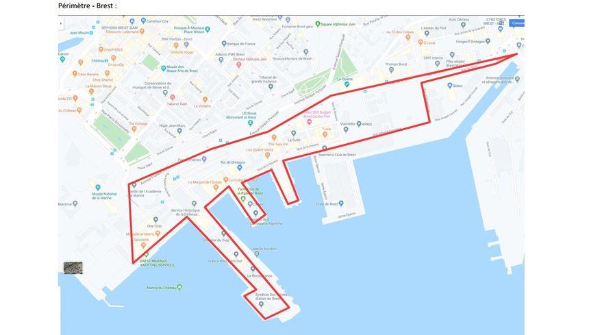 Le port de Brest est concerné par cette interdiction.