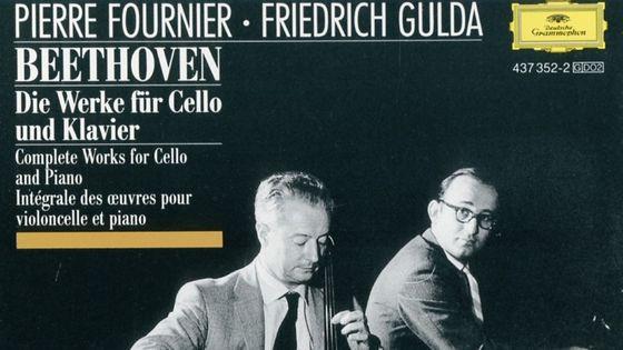 Pierre Fournier, Friedrich Gulda : Ludwig van Beethoven, intégrale des œuvres pour violoncelle et piano