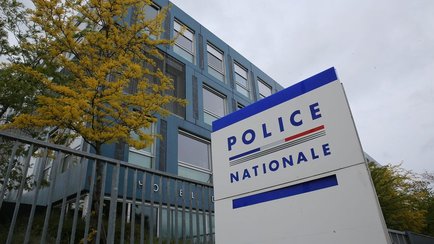 L'exterieur du batiment du Commissariat Central de Police de Mulhouse.Photo d'illustration.