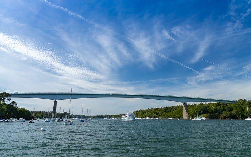 Pont de Cornouaille   Vedettes de l'Odet