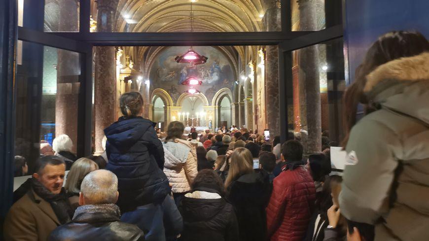 Ils étaient au moins 450 fidèles pour la messe de minuit à Montastruc-la-Conseillère