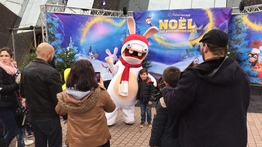 Des animations de Noël sont présentes sur le Parc.