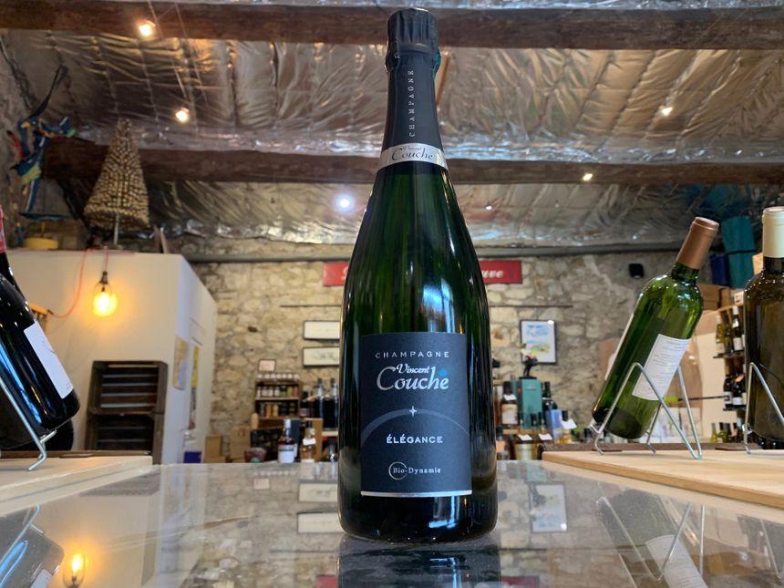 Élégance le champagne de Vincent Couche : l'effervescence gracieuse