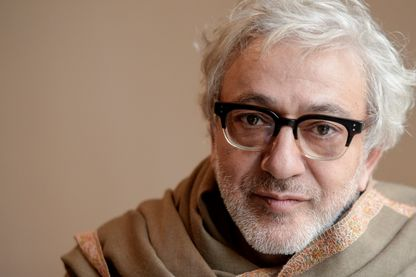 Le réalisateur, scénariste et acteur Elia Suleiman pendant le Festival du Film d'Ajyal le 19 novembre 2019 à Doha, Qatar.