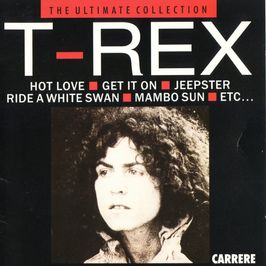 "Pochette de l'album ""The ultimate collection"" par T Rex"