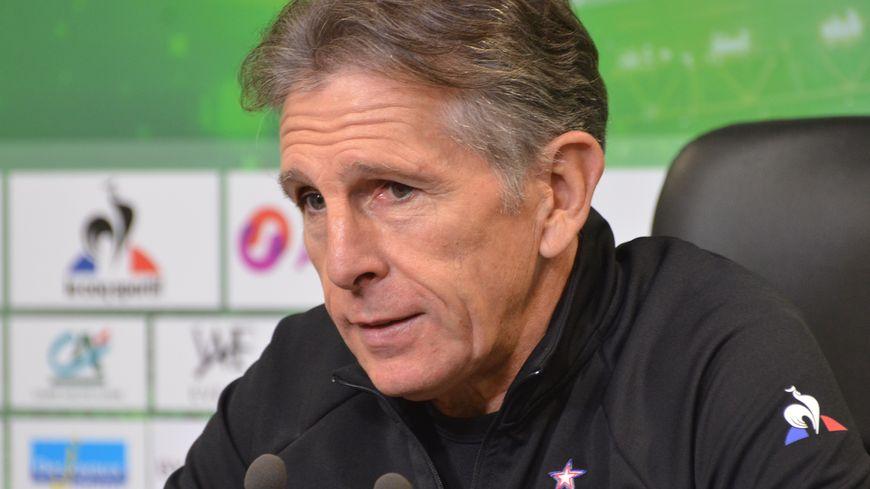 Claude Puel, l'entraîneur des verts