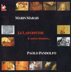 Suite d'un gout etranger : Le labyrinthe / Pour basse de viole et basse continue - PAOLO PANDOLFO