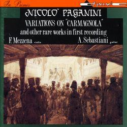 Variations sur la carmagnole - pour violon et guitare - FRANCO MEZZENA