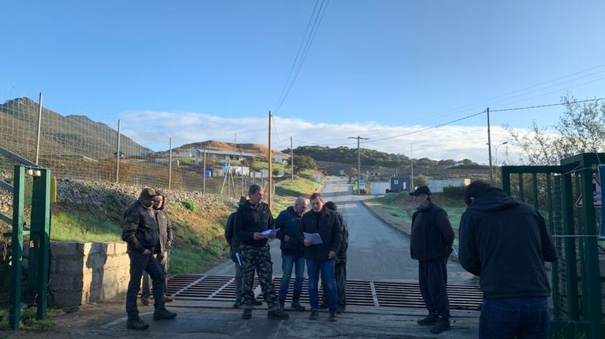 En novembre dernier, des militants de Core in fronte avaient partiellement libéré l'accès au site de Viggianellu