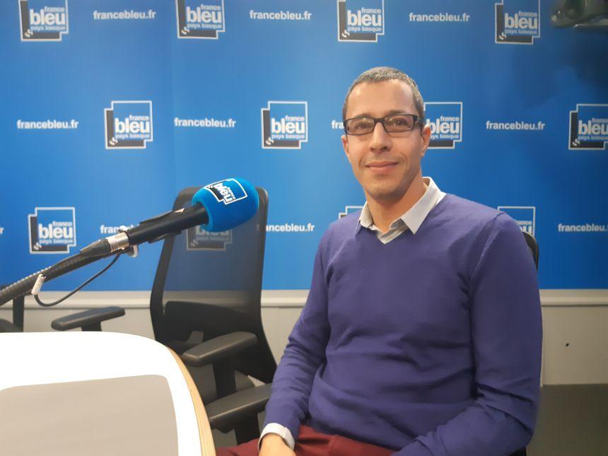 Madjid Boubaaya, directeur de l'école de la deuxième chance dans les Pyrénées-Atlantiques
