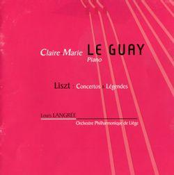 Concerto n°1 en Mi bémol Maj S 124 pour piano et orchestre :Allegretto vivace allegro animato - CLAIRE MARIE LE GUAY