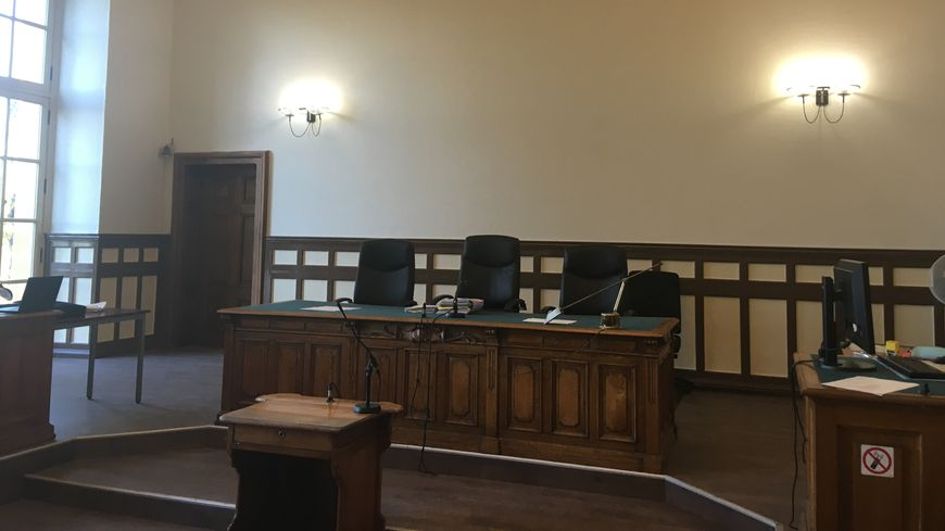 La salle d'audience du tribunal correctionnel de Metz