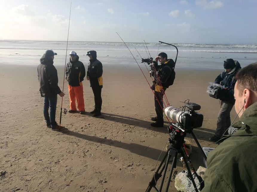Le tournage de l'émission