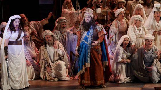 Plácido Domingo dans Nabucco (Verdi) à Valence le 29 novembre 2019