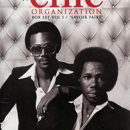 """Pochette de l'album """"Nile Rodgers presents / The chic / Organization box set / Vol. 1"""" par Chic"""