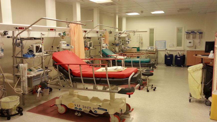Les urgences de l'hôpital Bel Air de Thionville.