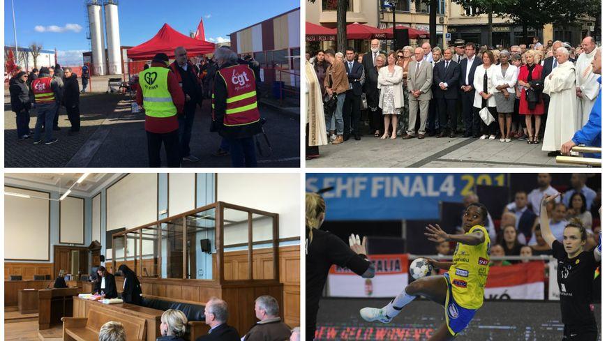 Le site de Neuhauser, plusieurs candidats aux municipales à Metz, le procès du Dr Frey médecin-inspecteur du Grand Est et Gnonsiane Niombia, joueuse de Metz Handball en demi-finale du Final Four