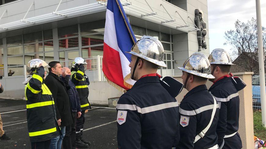 Le 14 décembre dernier, une semaine après le boycott de la Sainte-Barbe, les sapeurs-pompiers d'Indre-et-Loire avaient organisé leur propre cérémonie