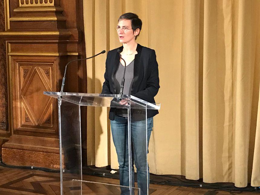 Ivoa Alavoine, directrice juridique de la Mairie de Paris