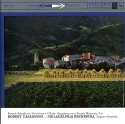Symphonie sur un chant montagnard français en Sol Maj op 25 (Symphonie cévenole) : 3. Animé - pour piano et orchestre - ROBERT CASADESUS