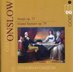 Nonet en la min op 77 : Allegro spirituoso - pour flûte traversière hautbois clarinette basson cor violon alto violoncelle et contrebasse - CONSORTIUM CLASSICUM