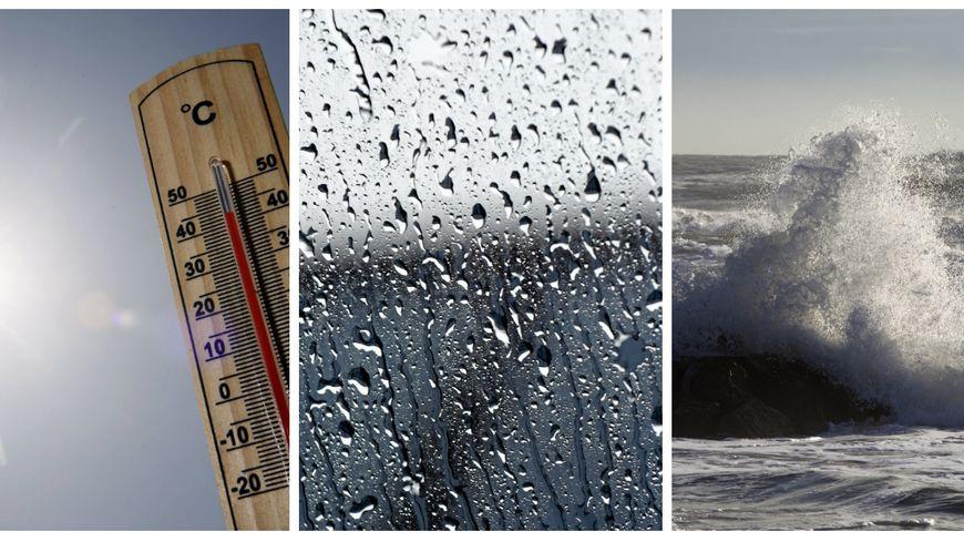 Chaleur, pluie et tempêtes ont marqué l'année en Loire-Atlantique et en Vendée