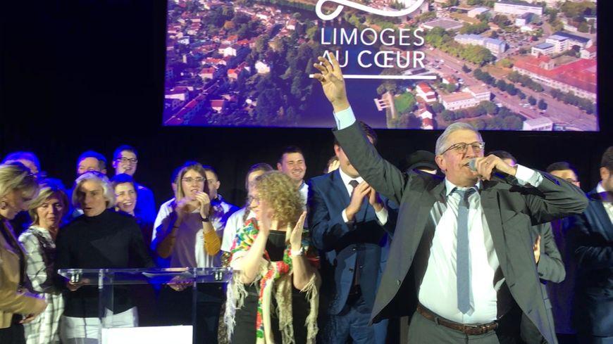Emie Roger Lombertie a officialisé sa candidature à sa propre succession à Limoges pour les élections municipales de 2020.