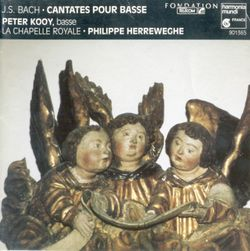 Cantate BWV 82 : Ich habe genug :  Aria - PETER KOOY