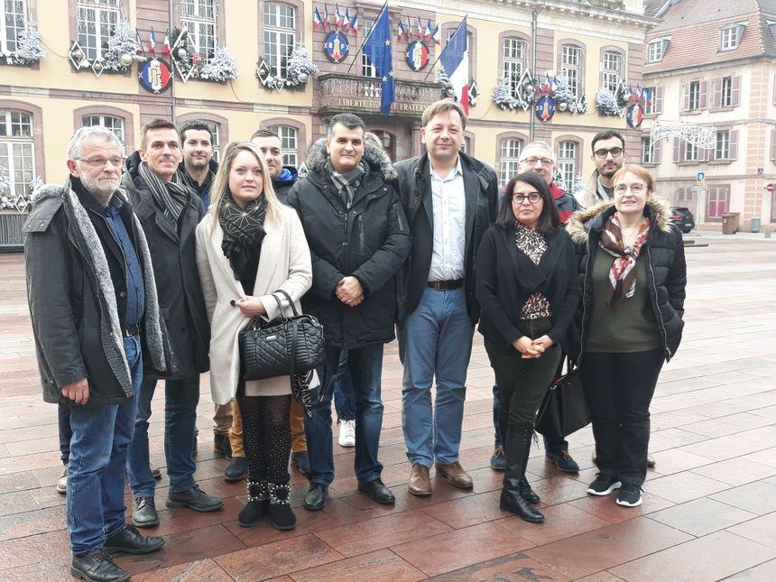 Bastien Faudot et Sami Jaber ont annoncé leur candidature en binôme en vue des municipales de mars prochain entourée de plusieurs soutiens