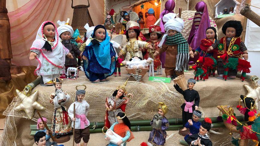 """La Thaïlande et le Pakistan font partie des pays asiatiques mis à l'honneur pour la 14e édition de l'exposition """"Crèches du monde"""" à Lisieux."""