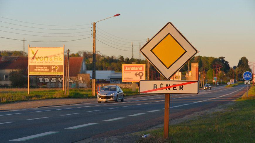 Future zone commerciale de Béner en avril 2017.